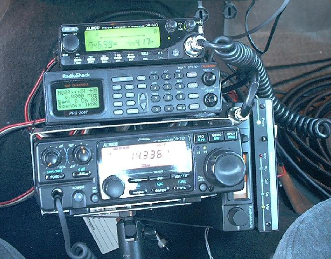 Radios And Antennas In My Truck